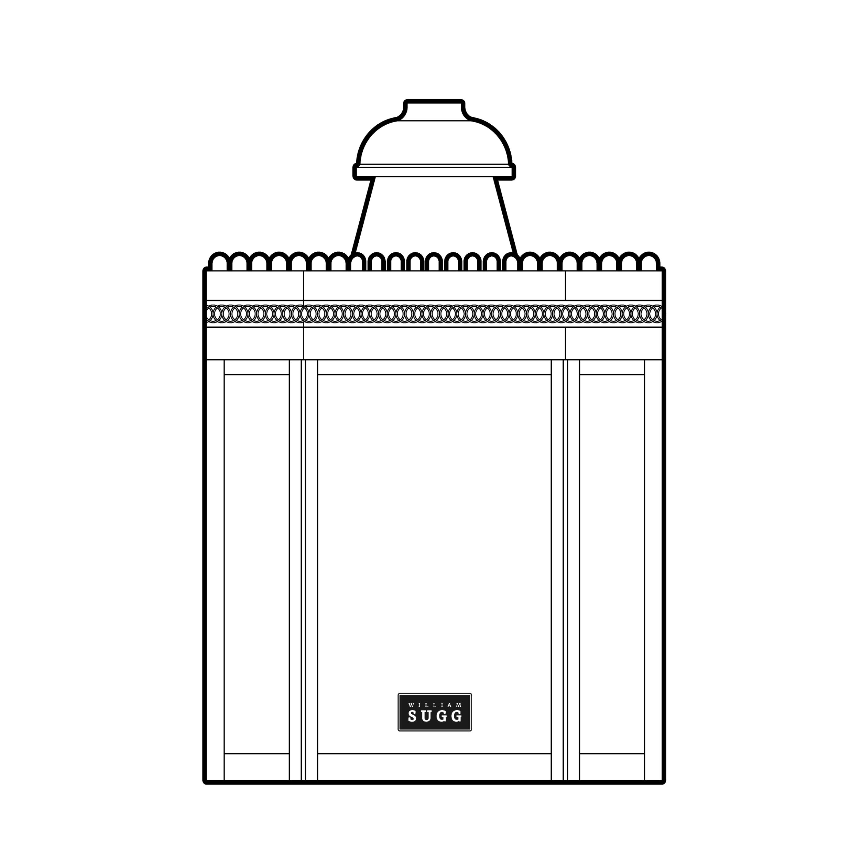 Palace Back Lamp