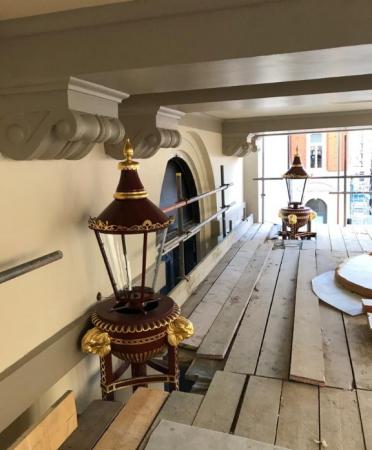 Bespoke heritage lantern