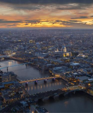 London City Lighting Landscape