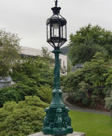 Park lighting heritage street lamp